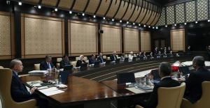 Cumhurbaşkanı Erdoğan, Korona Virüs'e Karşı Alınacak Tedbirlerin Görüşüldüğü Toplantıya Başkanlık Etti