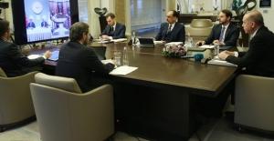 Cumhurbaşkanı Erdoğan Koronavirüs Bilim Kurulu Toplantısı'na Video Konferans Yoluyla Katıldı