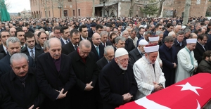 Cumhurbaşkanı Erdoğan, Şevket Kazan'ın Cenaze Törenine Katıldı