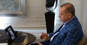 Cumhurbaşkanı Erdoğan, Ulaştırma Ve Altyapı Bakanı Karaismailoğlu İle Görüştü