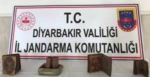 Diyarbakır'ın Bismil İlçesinde Tarihi Eser Operasyonu