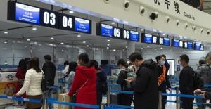Hubei'de Yaklaşık İki Ay Sonra İlk Yolcu Uçağı Seferi