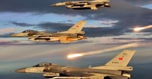 Irak'ın Kuzeyi Metina Bölgesine Hava Harekatı: 8 Terörist Etkisiz Hale Getirildi
