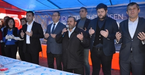 Kuşadası'nda İdlib Şehitleri Dualarla Anıldı