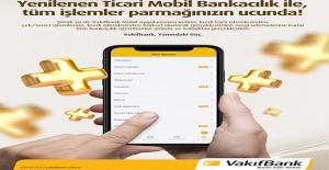 Vakıfbank Yeni Ticari Mobil'le Vergi Ödeme Kolaylaşıyor