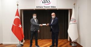 ATO'dan Covid-19 Konusunda Çalışma Yapan Start-Up Firmasına Ödül