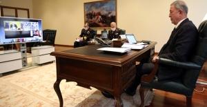 Bakan Akar, Video Konferans Yöntemiyle Gerçekleşen NATO Savunma Bakanları Toplantısı'na Katılıyor