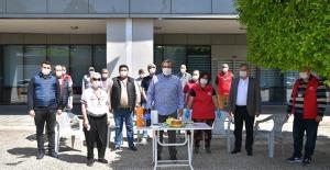 Başkan Çetin'den Personele Teşekkür
