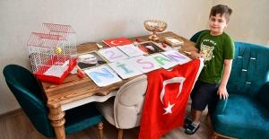 Başkan Soner Çetin'den Efe'ye 23 Nisan Hediyesi