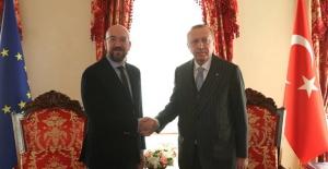 Cumhurbaşkanı Erdoğan, AB Konseyi Başkanı Michel İle Telefonda Görüştü