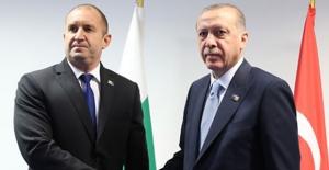 Cumhurbaşkanı Erdoğan, Bulgaristan Cumhurbaşkanı Radev İle Görüştü