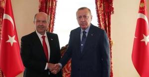 Cumhurbaşkanı Erdoğan, KKTC Başbakanı Tatar İle Telefonda Görüştü