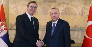 Cumhurbaşkanı Erdoğan, Sırbistan Cumhurbaşkanı Vucic İle Telefonda Görüştü