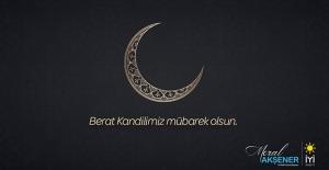 İYİ Parti Genel Başkanı Akşener'den Berat Kandili Mesajı
