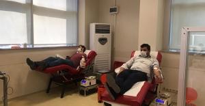 Kan Bağışçıları Yasakta Da Umut Olmaya Devam Etti