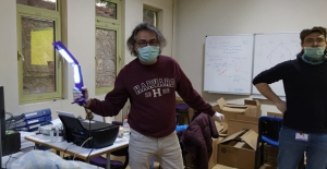 Türk Bilim İnsanları Tasarladı: Korona Virüsü Öldüren Cihaz!