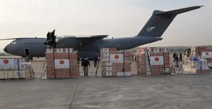 Türkiye, İtalya Ve İspanya'ya Sağlık Malzemeleri Gönderdi