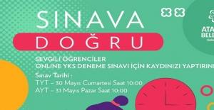 Ataşehir Belediyesi'nden Online YKS Denemesi