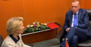 Cumhurbaşkanı Erdoğan AB Komisyonu Başkanı Ursula von der Leyen İle Telefonda Görüştü