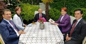 Kılıçdaroğlu'ndan Akşener'e Bayram Ziyareti