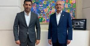 Kuşadası Belediye Başkanı Günel'den Genel Başkan Kılıçdaroğlu'na Ziyaret