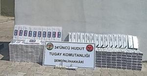 Şemdinli'de 2 Bin 890 Paket Kaçak Sigara Ve 59 Tablet Kaçak İlaç Ele Geçirildi