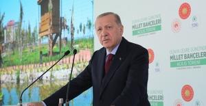 """""""2023 Yılına Kadar 81 Vilayetimizin Tamamını Millet Bahçeleriyle Donatmış Olacağız"""""""