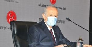 """Bahçeli, """"CHP, Demokrasiyi Zillet Çamuruyla Ziyan Etmenin Peşindedir"""""""