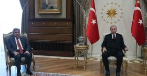Cumhurbaşkanı Erdoğan, Danıştay Başkanı Zeki Yiğit'i Kabul Etti