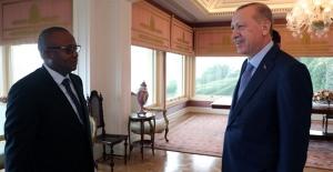 Cumhurbaşkanı Erdoğan, Gine Bissau Cumhurbaşkanı Embalo İle Görüştü