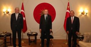 Cumhurbaşkanı Erdoğan, Türkiye'nin BM Daimi Temsilcisi Sinirlioğlu İle Görüştü