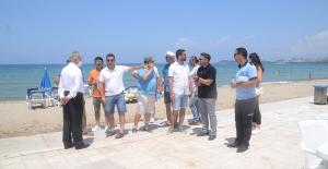 Kuşadası Plajlarına Avrupa Standartlarında Düzenleme