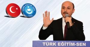 """Türk Eğitim-Sen Genel Başkanı Geylan, """"Devletin Emanetine Hıyanet Edenleri Görün Artık!"""""""