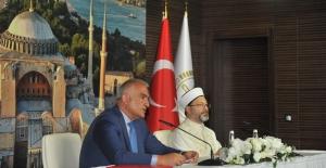 """Bakan Ersoy: """"Ayasofya Camii İtinayla Korunacak"""""""