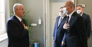 Bakan Soylu'dan Yargıtay Başkanı Akarca'ya Hayırlı Olsun Ziyareti