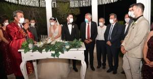Çukurova Belediye Başkanı Çetin, Kızı Melike'nin Nikahını Kıydı