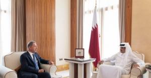 Millî Savunma Bakanı Akar, Katar Emiri Al Thani İle Görüştü