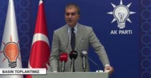 """AK Parti Sözcüsü Çelik: """"Hiç Kimse Siyasi Sistemimize Müdahale Edemez"""""""