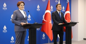 Akşener'den, Babacan'a Hayırlı Olsun Ziyareti