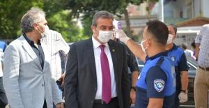 Başkan Çetin'den Pazar Denetimi