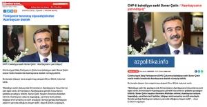 Başkan Çetin Azerbaycan Basınında