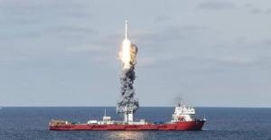Çin, Sarı Deniz'den Aynı Anda Dokuz Uydu Fırlattı