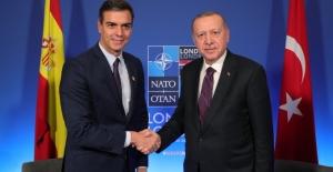 Cumhurbaşkanı Erdoğan, İspanya Başbakanı Sanchez İle Görüştü
