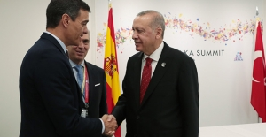 Cumhurbaşkanı Erdoğan, İspanya Başbakanı Sanchez İle Telefonda Görüştü