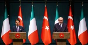 Cumhurbaşkanı Erdoğan, İtalya Başbakanı Conte İle Telefonda Görüştü