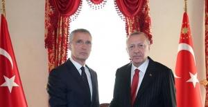 Cumhurbaşkanı Erdoğan, NATO Genel Sekreteri Stoltenberg İle Görüştü