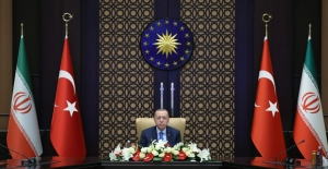 Cumhurbaşkanı Erdoğan, Video Konferans Yoluyla Türkiye-İran Yüksek Düzeyli İşbirliği Konseyi 6. Toplantısı'na Katıldı