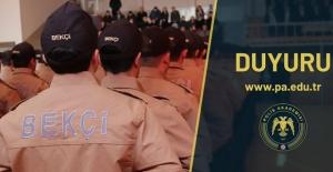 İstanbul İçin 400 Bekçi Alınacak