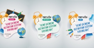 TRT EBA Kanallarında Yeni Yayın Dönemi Başlıyor