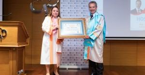 Ahmet Çalık'a Malatya Turgut Özal Üniversitesi'nden Fahri Doktora Unvanı